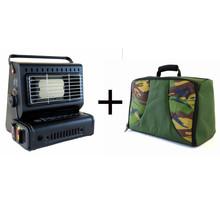 Tragbare Gasheizung + Tasche - Combi Deal