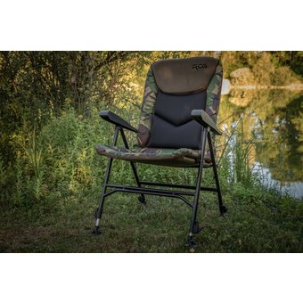 RCG  RCG Chair Highback Camou   Chair with upright and high sitting position