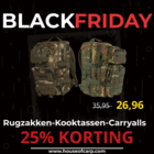 25% DISCOUNT on Backpacks & Luggage