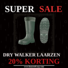 20% DISCOUNT ON DRY WALKER BOOTS