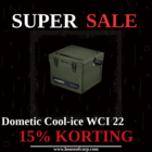 15% DISCOUNT on Dometic Cool-Ice WCI 22
