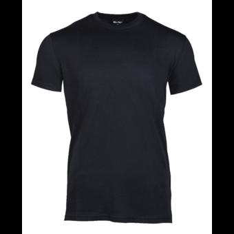 House of Carp T-Shirt Zwart Onbedrukt