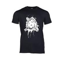 House of Carp T-Shirt Zwart Splash