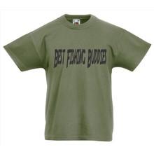 House of Carp Shirt Kids Best Fishing Buddies