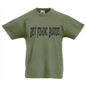 House of Carp House of Carp  Vaderdag Shirt Kids Best Fishing Buddies