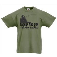 House of Carp Shirt Kids Fishing Partners