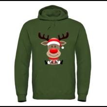 House of Carp Hoodie groen rendier kerst pre order!