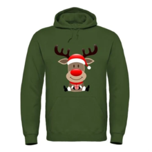 House of Carp Hoodie grün Rentier Weihnachten Vorbestellung!