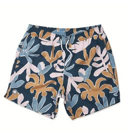 PRETTY GREEN PRETTY GREEN LEAF PRINT SWIM SHORTS