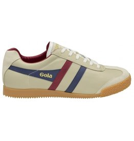 GOLA SHOES GOLA HARRIER LEATHER ECRU / NAVY / BURGUNDY