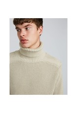 PRETTY GREEN PRETTY GREEN TEXTURED KNITTED ROLL NECK JUMPER
