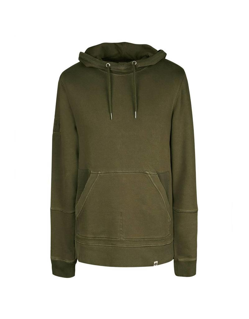 PRETTY GREEN PRETTY GREEN GARMENT DYED HOODY