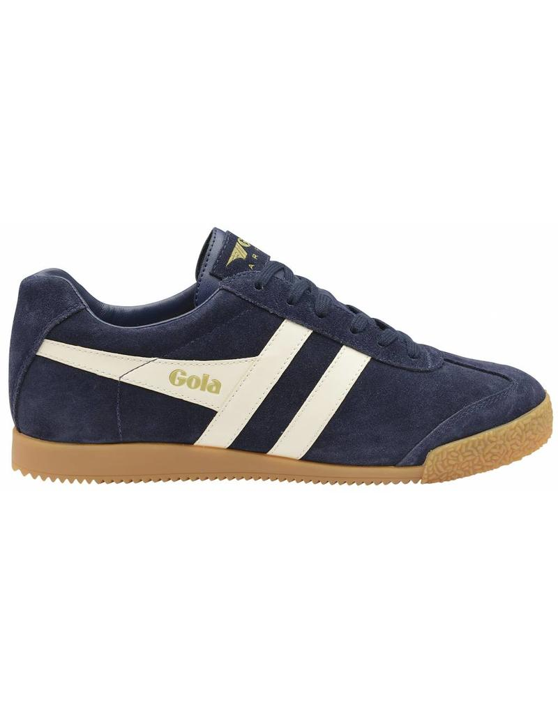GOLA SHOES GOLA HARRIER MEN'S SUEDE TRAINER NAVY / OFF WHITE