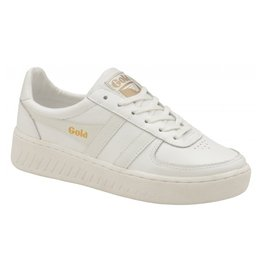 GOLA SHOES GOLA CLASSICS WOMEN'S GRANDSLAM LEATHER TRAINER