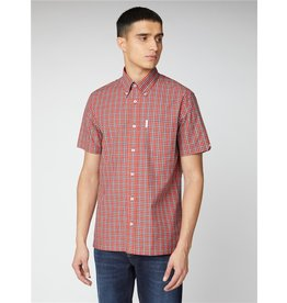 BEN SHERMAN BEN SHERMAN ARCHIVE RED CHECK BUTTON DOWN