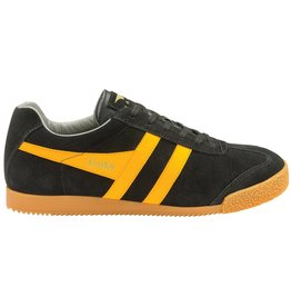 GOLA SHOES GOLA HARRIER SUEDE BLACK SUN GREY