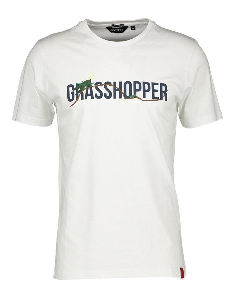 ANTWRP ANTWRP T-SHIRT GRASSHOPPER WHITE