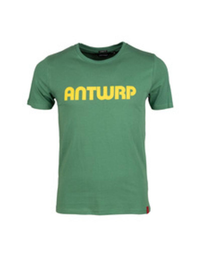 ANTWRP ANTWRP T-SHIRT LOGO GREEN