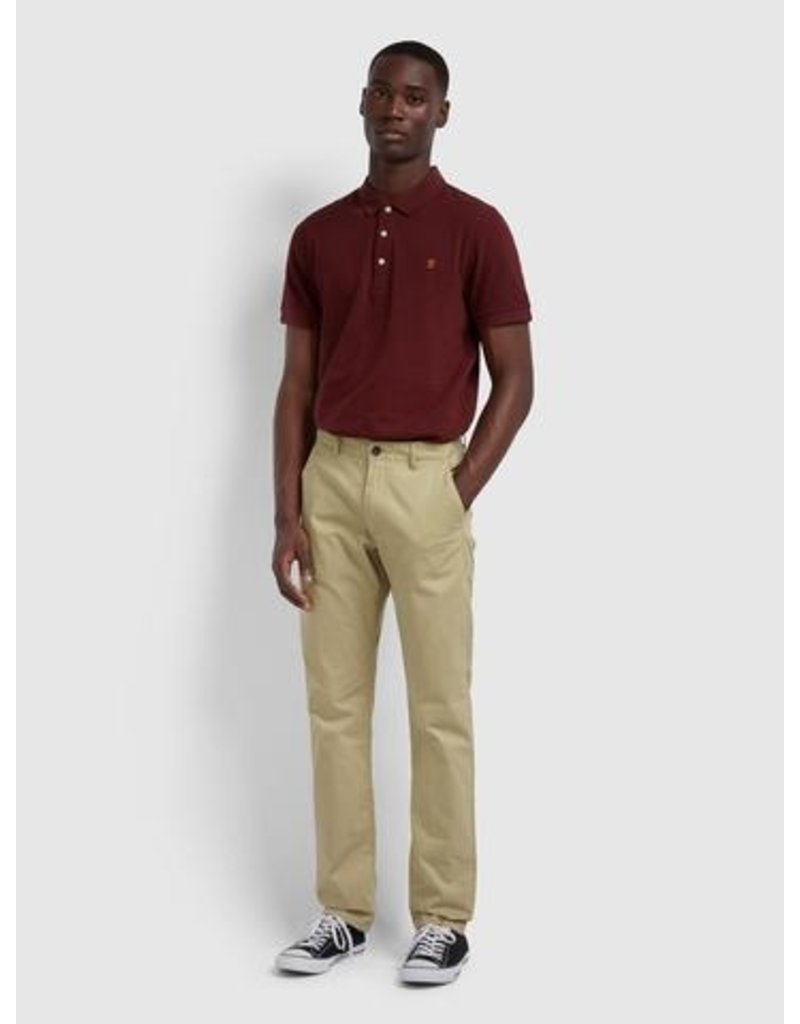 FARAH FARAH ELM CHINO REGULAR FIT LIGHT SAND