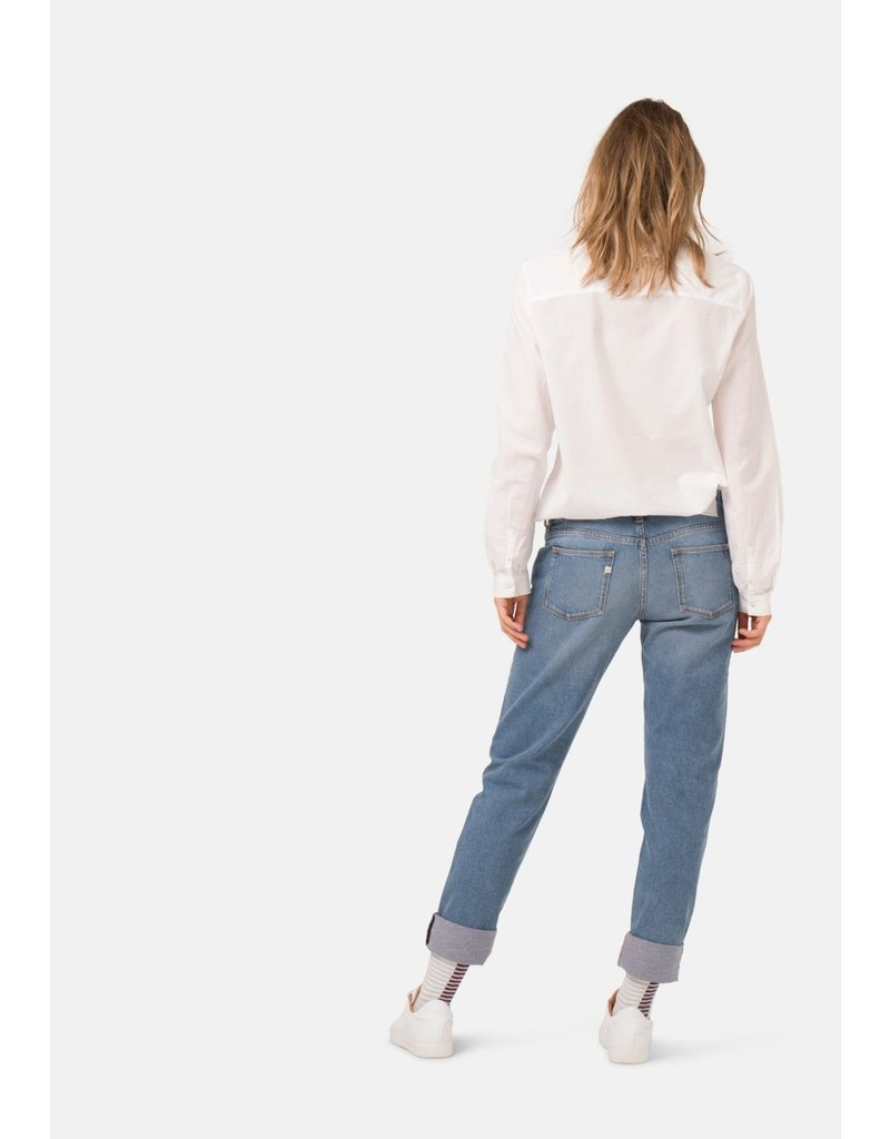MUD JEANS MUD FAVE STRAIGHT HEAVY STONE