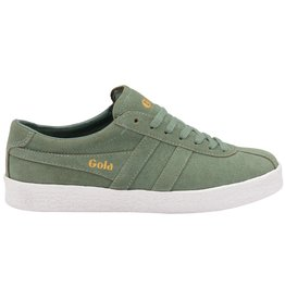 GOLA SHOES GOLA CLASSICS WOMEN'S TRAINER SUEDE SAGE WHITE