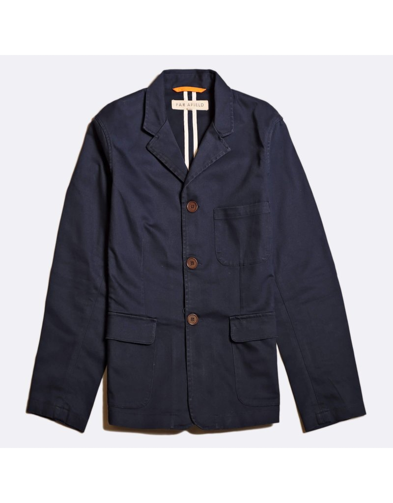 FAR AFIELD FAR AFIELD BARBET JACKET ENSIGH BLUE