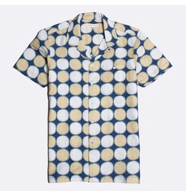 FAR AFIELD FAR AFIELD SELLECK SS SHIRT YELLOW NAVY