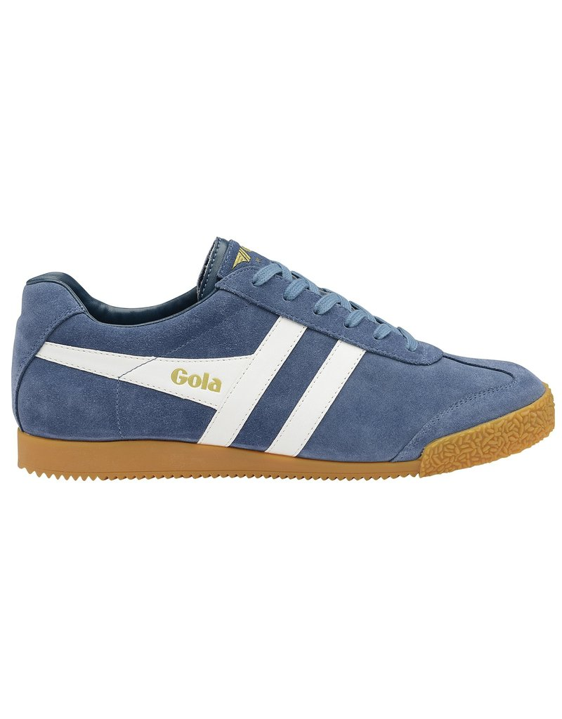 GOLA SHOES GOLA HARRIER SUEDE BALTIC WHITE