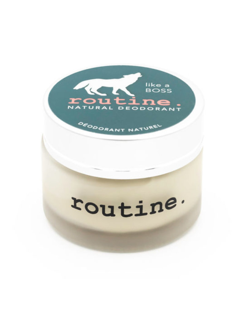 ROUTINE  ROUTINE DEODORANT LIKE A BOSS