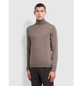 FARAH FARAH GOSFORTH MERINO WOOL ROLL NECK