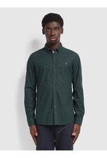 FARAH FARAH STEEN SLIM FIT BRUSHED OXFORD SHIRT