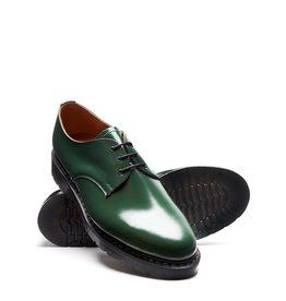 SOLOVAIR SOLOVAIR RACING GREEN HI SHINE 3 EYE GIBSON SHOE