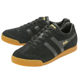 GOLA SHOES GOLA HARRIER SUEDE BLACK BLACK
