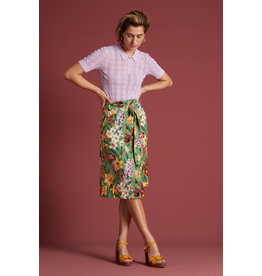 KING LOUIE KING LOUIE LOLA BUTTON SKIRT TULA