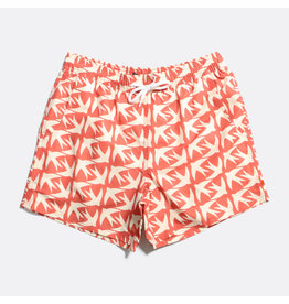 FAR AFIELD FAR AFIELD PRINTED SWIMSHORT SWALLOW FIN RECYCLED PLASTIC