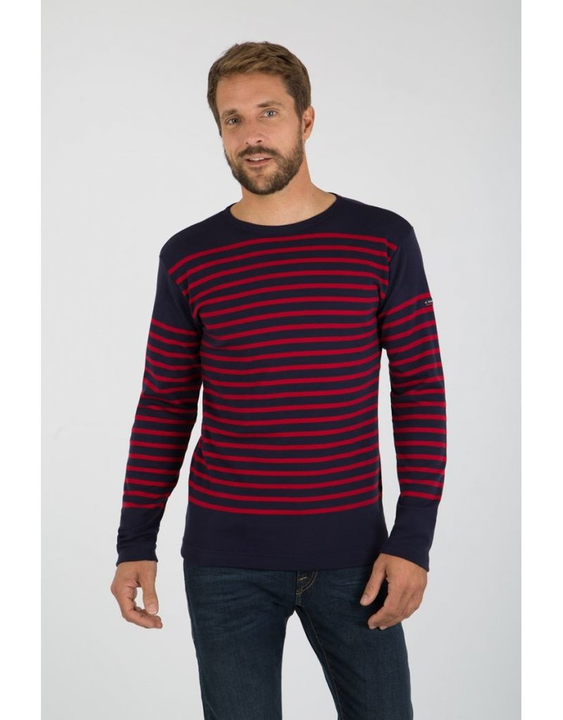 """ARMOR LUX ARMOR LUX MENS """"AMIRAL"""" BRETON STRIPED SHIRT -THICK COTTON"""