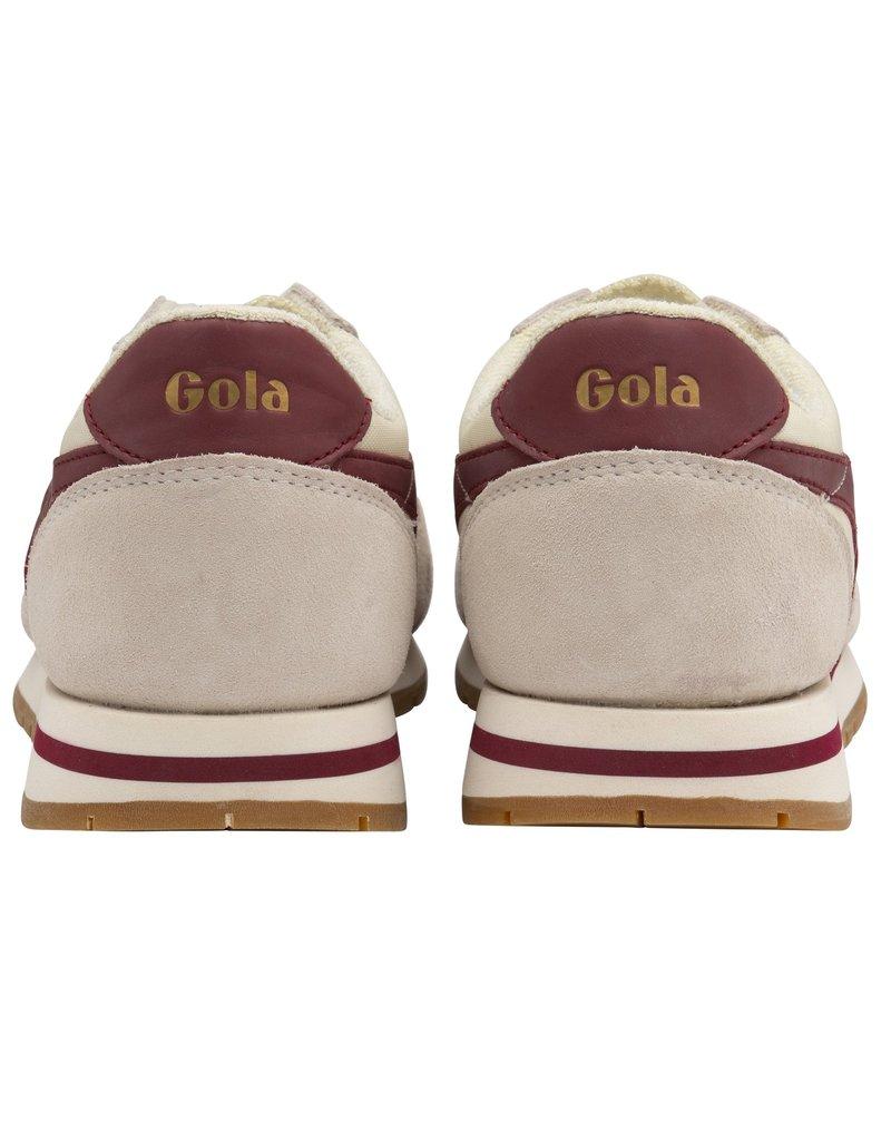 GOLA SHOES GOLA CLASSICS MEN'S DAYTONA OFF WHITE / DEEP RED