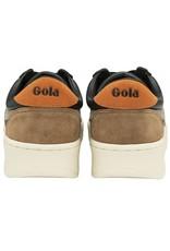 GOLA SHOES GOLA CLASSICS MEN'S GRANDSLAM TRIDENT BLACK RHINO  ORANGE