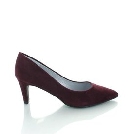 Ancona Ancona, Suede Pumps Bordeaux