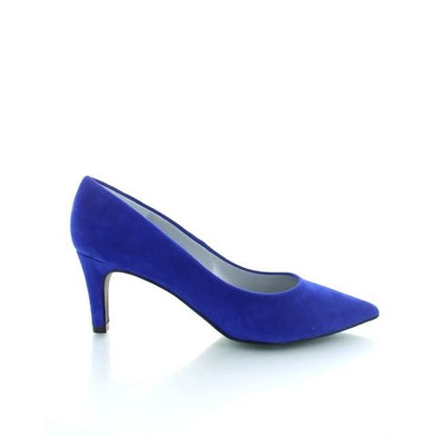 Ancona, Suede Pumps Royal Blue