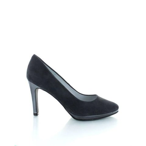 Sebastian, Suede Pumps Antraciet