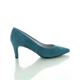 Ancona Ancona, Suede Pumps Bottle Green