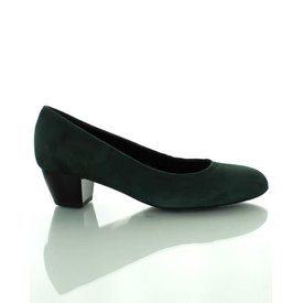 Como Scarpe Como Scarpe, Suede Pumps Bottle Green