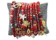 Unieke kleurrijke armbanden