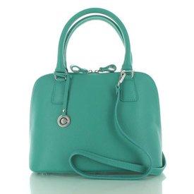 Colori Felina, Leren Handtas Turquoise