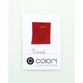 Colori Kleurstaal Rood