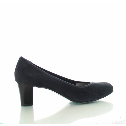 Denia, Suede Pumps Grijs