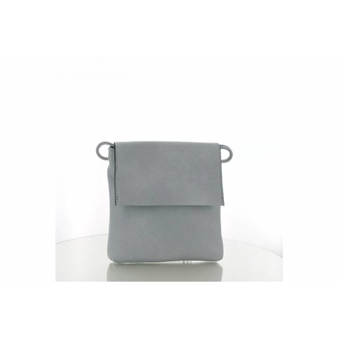 Twin Bag Klep Pastelblauw