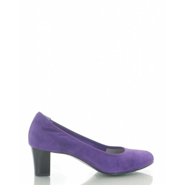 Denia Denia, Suede Pumps Paars