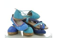 Schoenen en accessoires in de kleur blauw